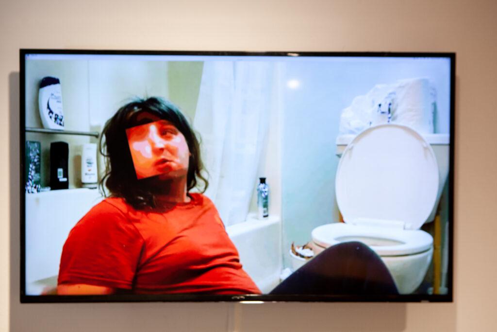 Deepfake Image of a person in a bathtub