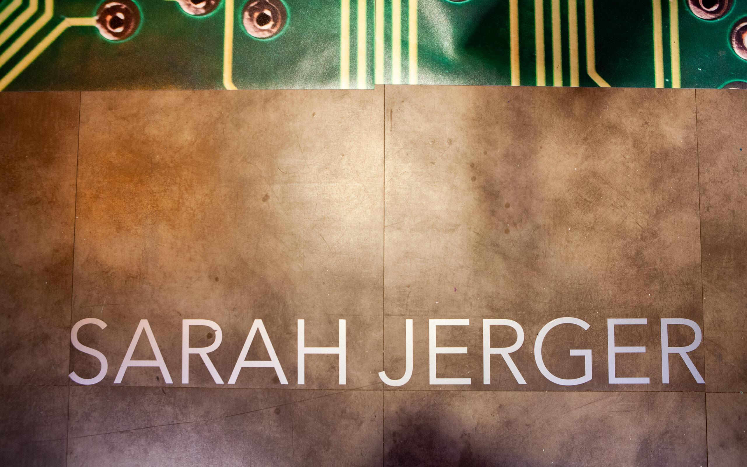 Sarah Jerger's Name