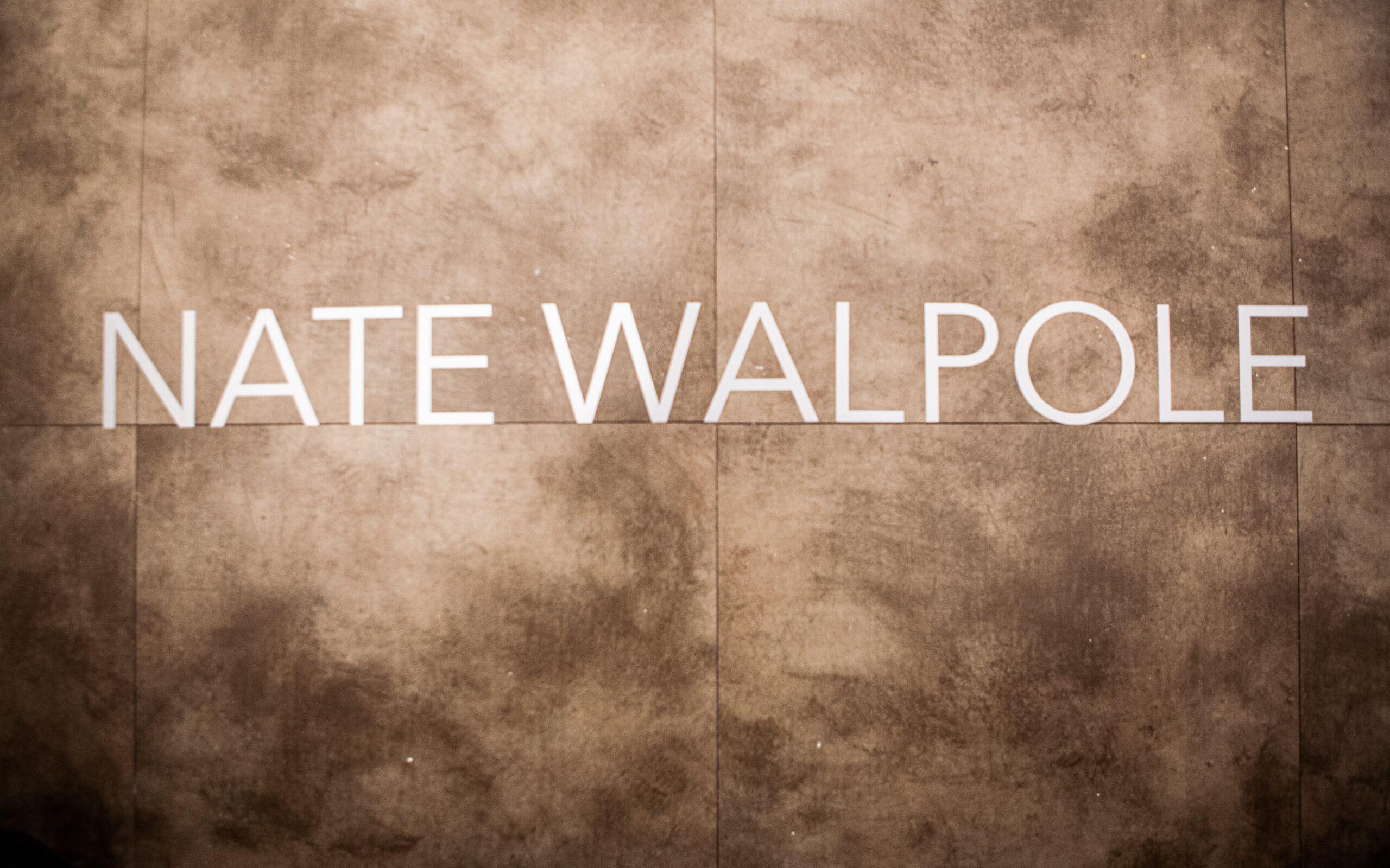 Nate Walpole's Name